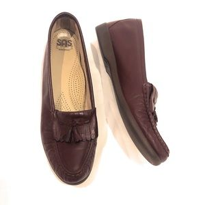 SAS Kiltie Loafer Tassel Soft Leather Slip On